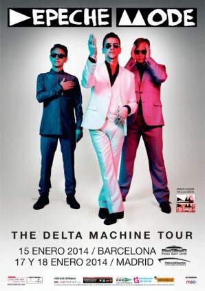 Depeche Mode retoma Delta Machine Tour en España